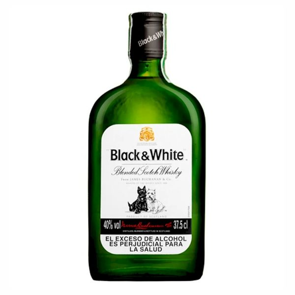 Whisky Black and White 375 ml
