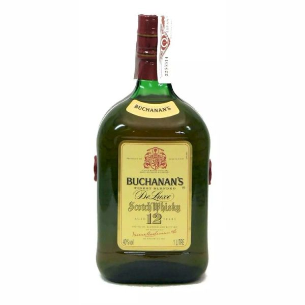 Whisky Buchanans deluxe 12 años 1000 ml