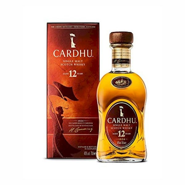 Whisky Cardhu Single Malt 12 años 700 ml