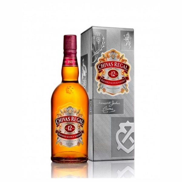 Whisky Chivas 12 años 375 ml