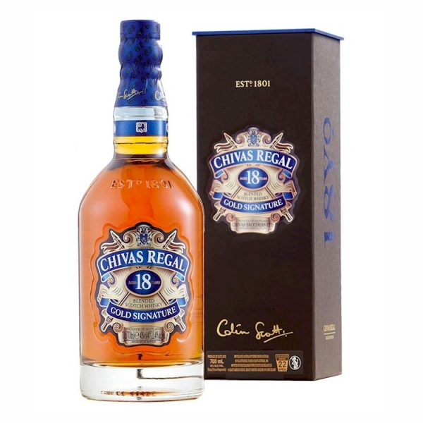 Whisky Chivas 18 años 750 ml