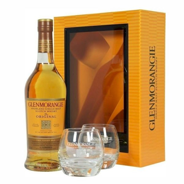 Whisky Glenmorangie Original Single Malt 700 ml+2 vasos