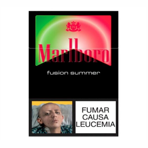 cigarrillo marlboro fusion summer x 10